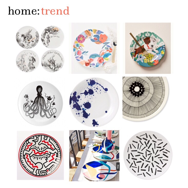 home: trend [ decorative plates ]