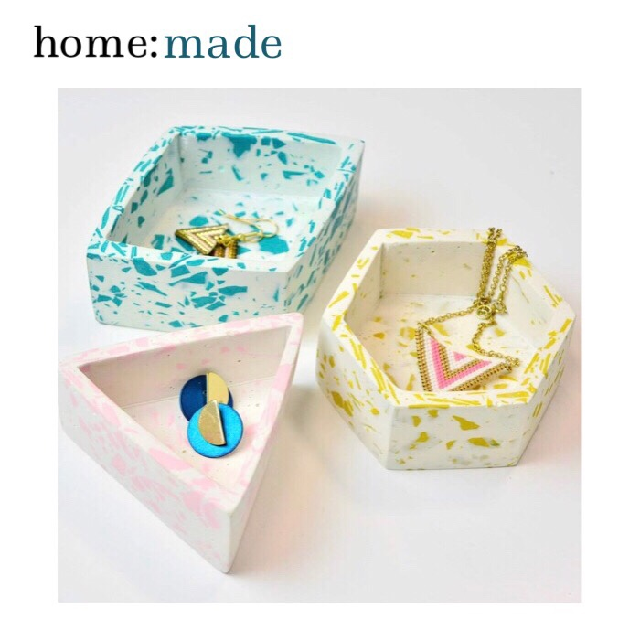 home: made [ Jesmonite workshop ]