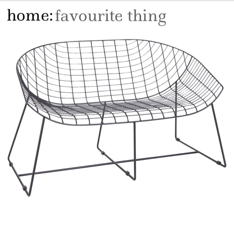 home: favourite thing [ garden bench ]