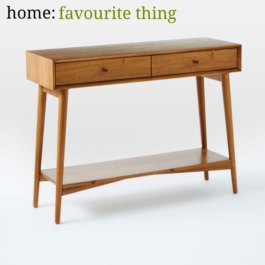 home: favourite thing [ console table ]