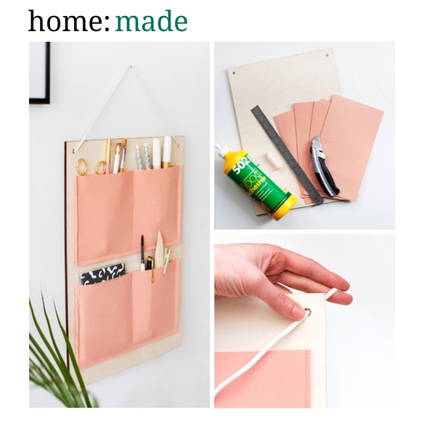 home: made [ wall organiser ]