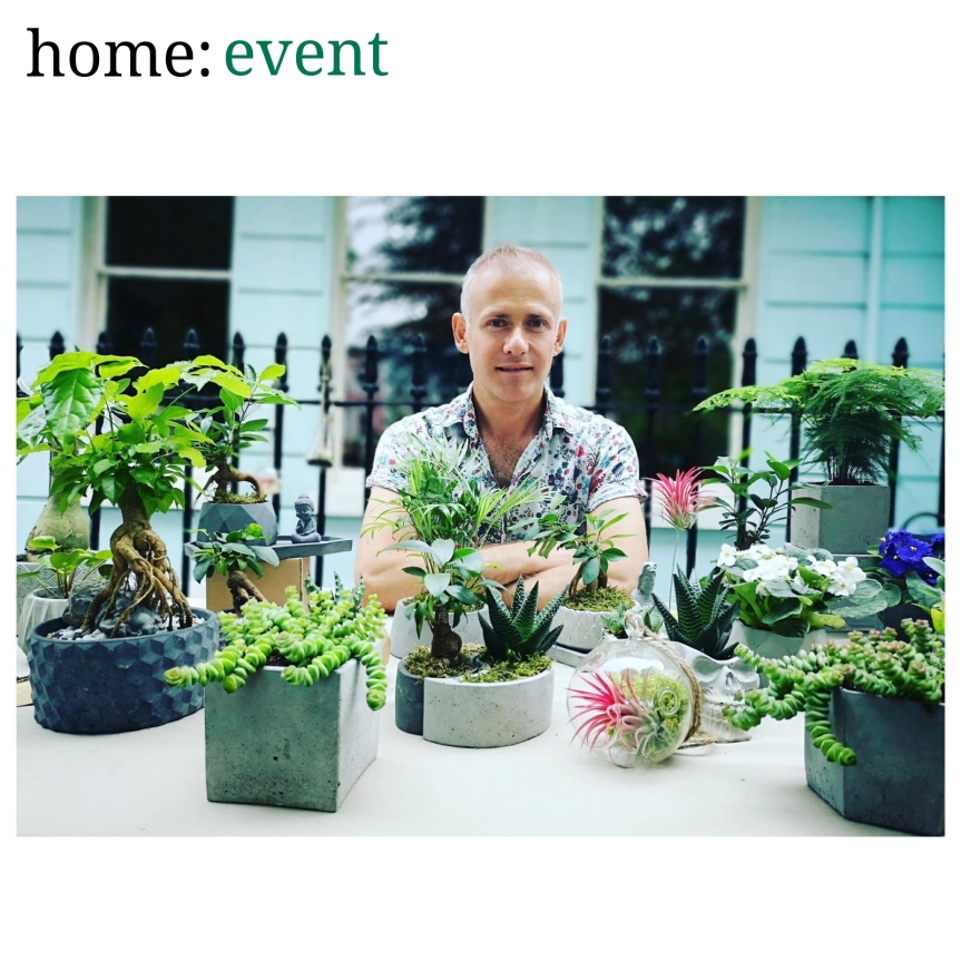 home: event [ Deterra London at West Elm ]