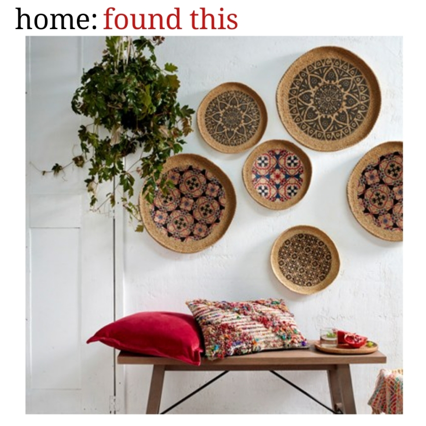 home: found this [ wall basket ]