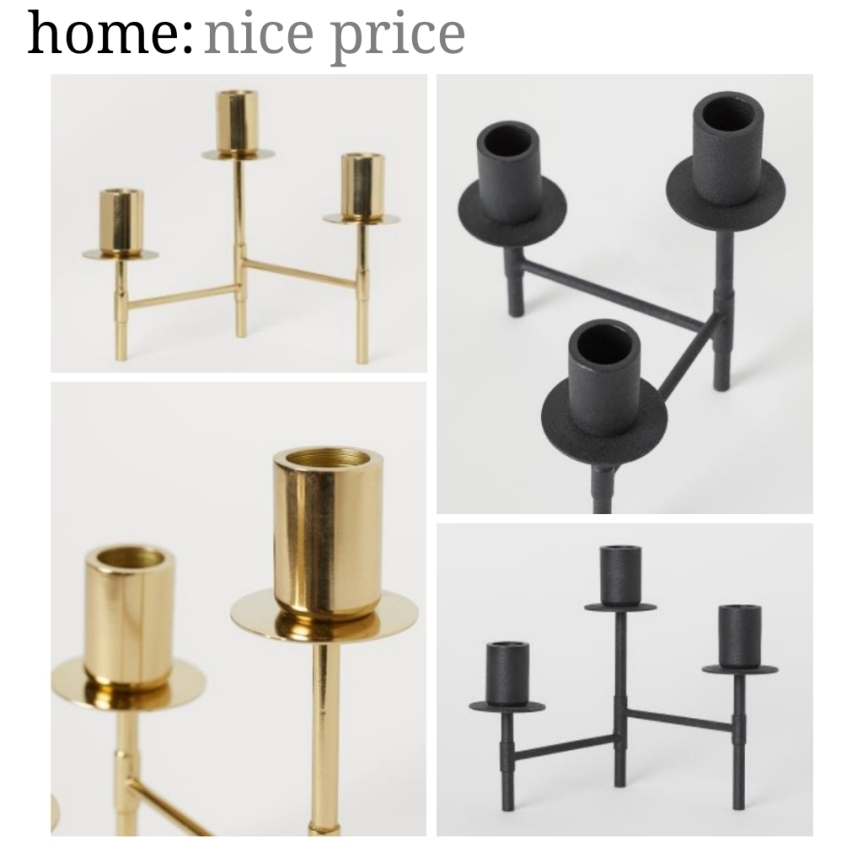 home: nice price [ candelabra ]