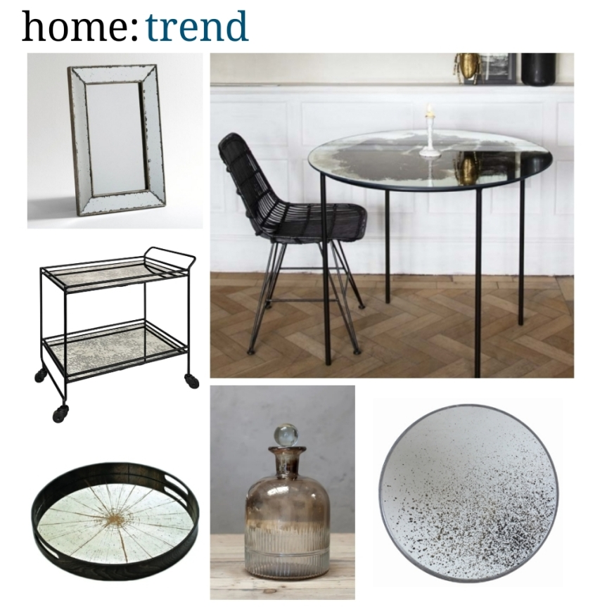 home: trend [ distressed glass ]