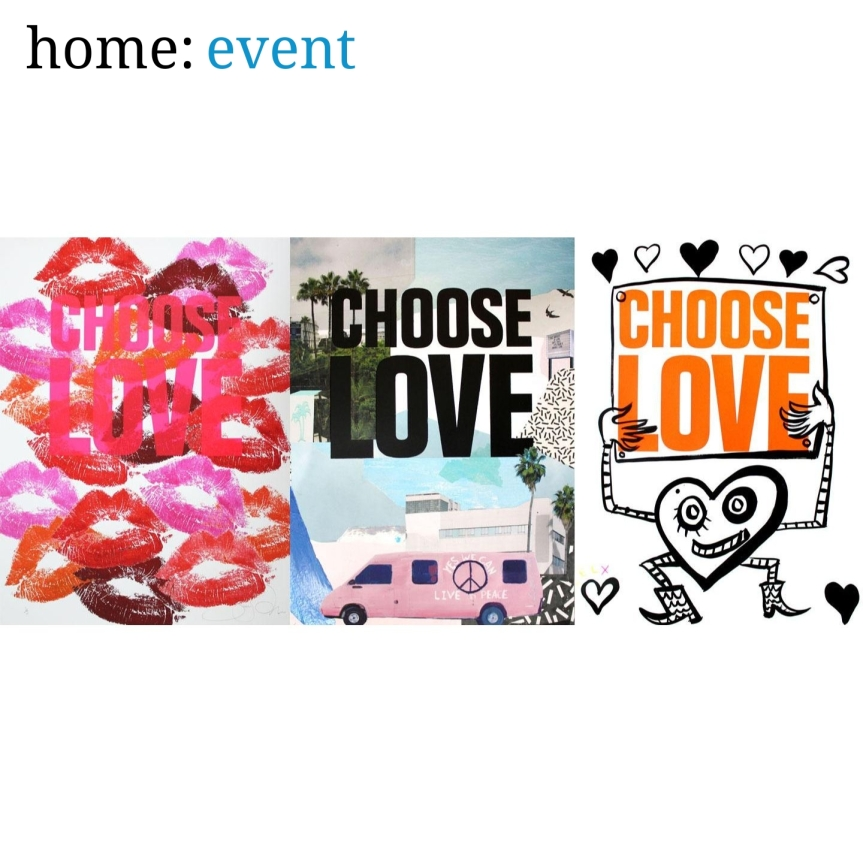 home: event [ Choose Love exhibition ]