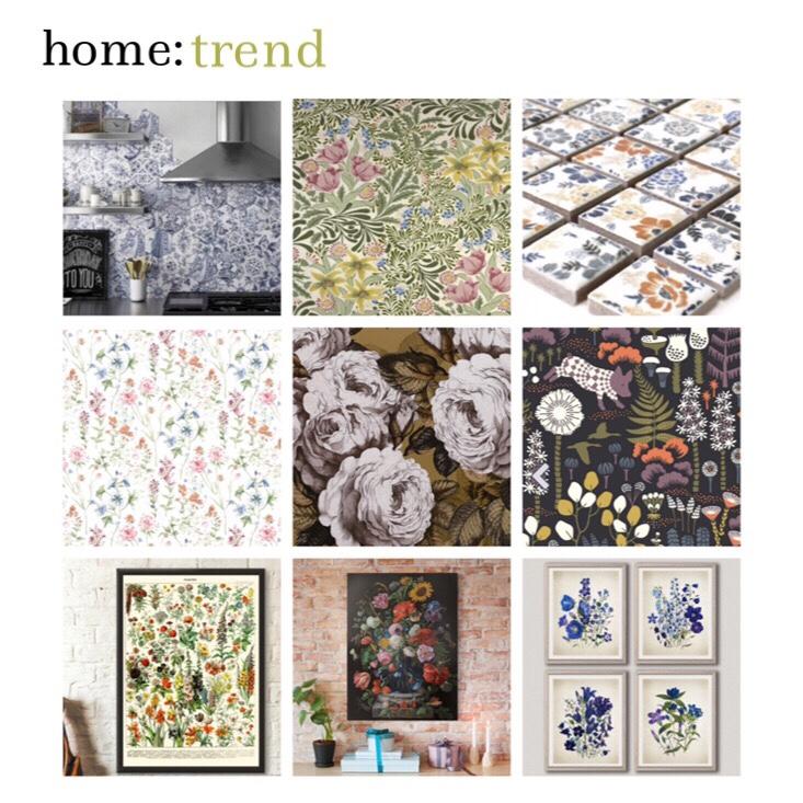 home: trend [ vintage florals]
