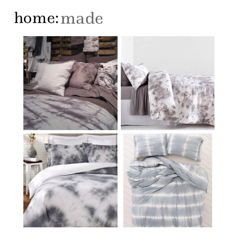 home: made [ tie dye bedding ]
