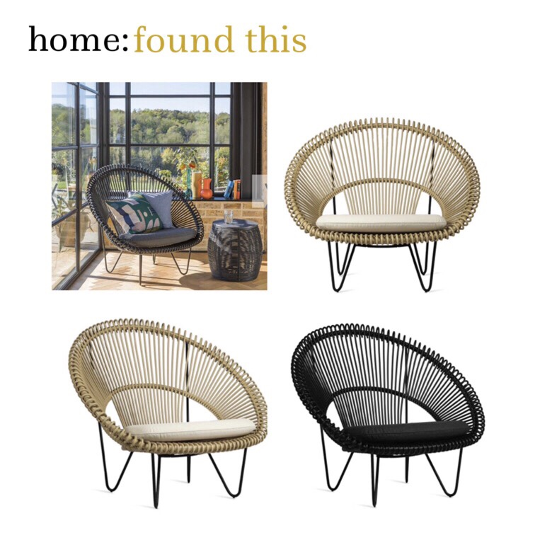 home: found this [ garden chair ]