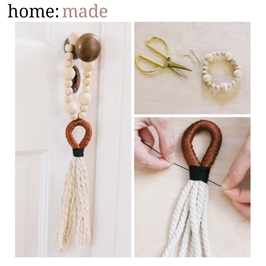 home: made [ door tassel ]