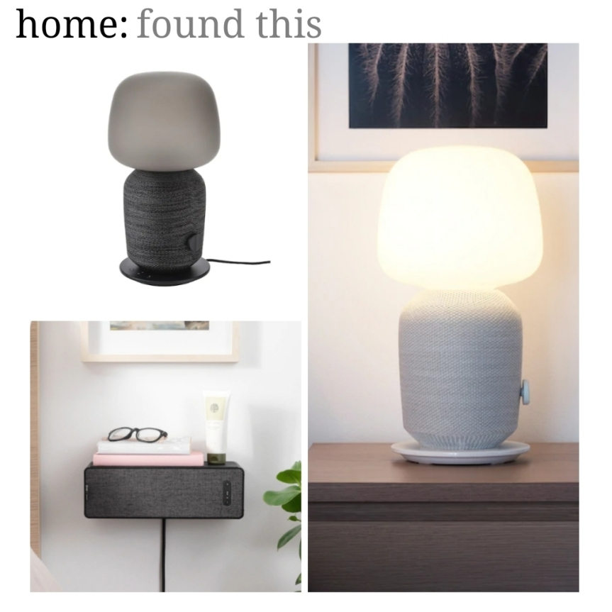 home: found this [ SYMFONISK – Ikea]