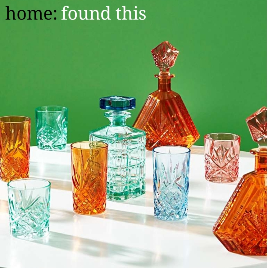 home: found this [ glassware ]