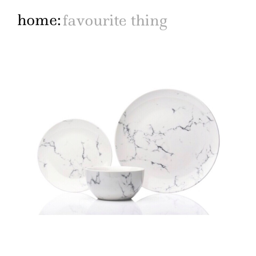 home: favourite thing [ dinner set ]