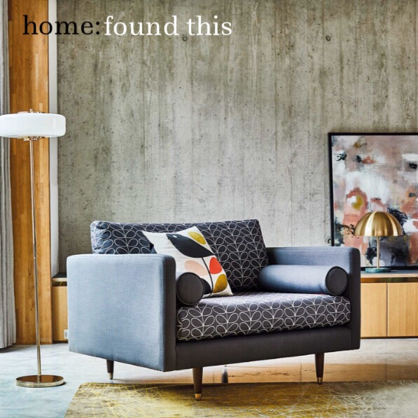 home: found this [ snuggler sofa ]