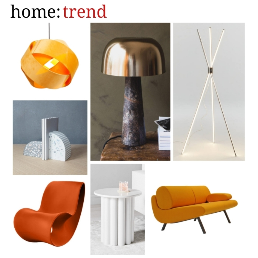 home: trend [ sculptured form ]