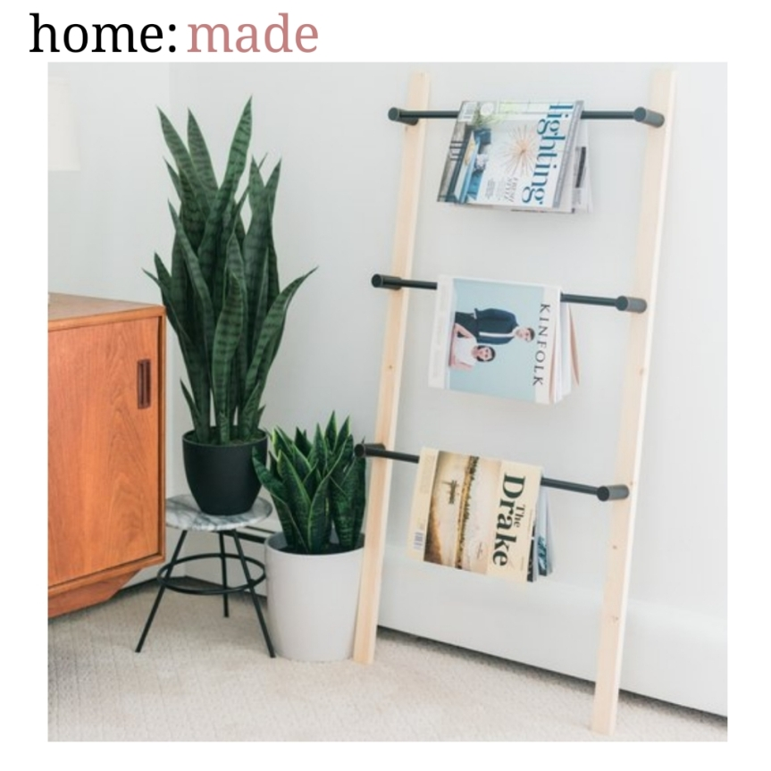 home: made [ magazine ladder ]