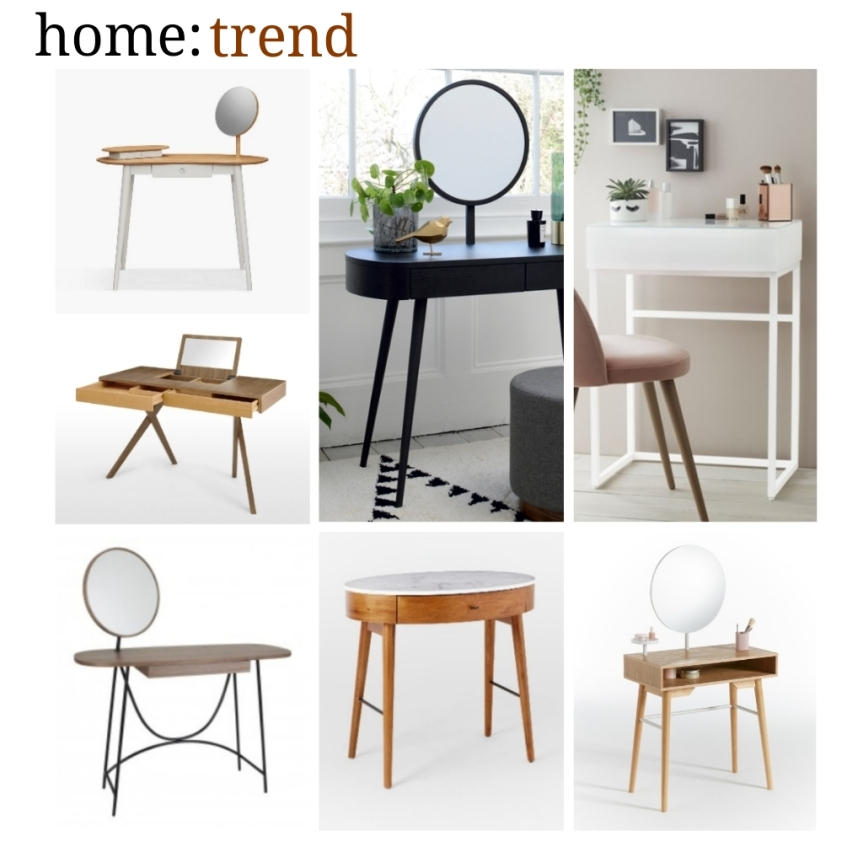 home: trend [ compact dressing tables ]