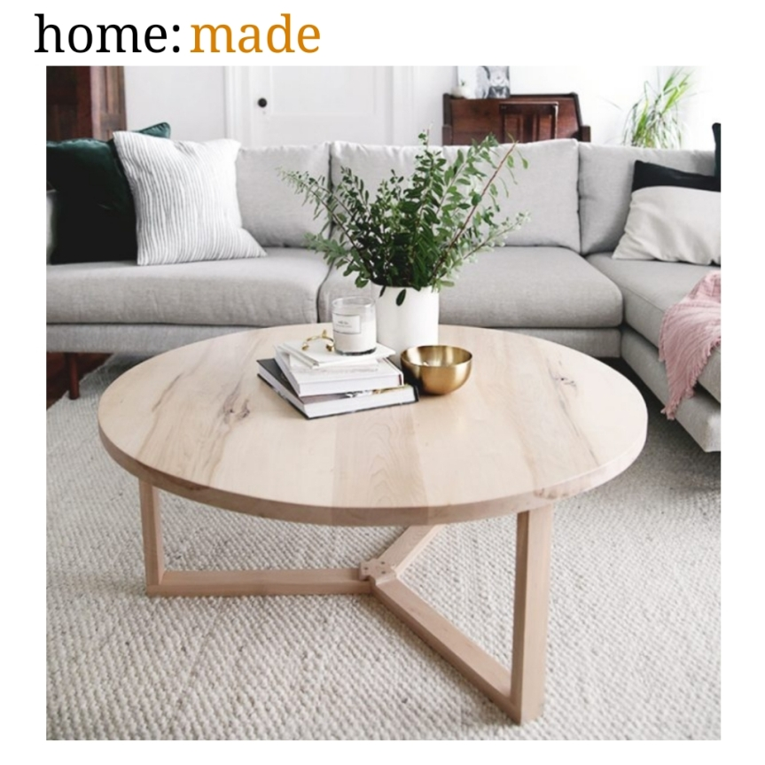 home: made [ coffee table ]