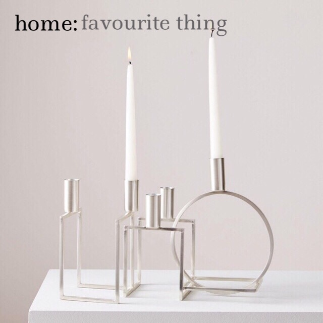 home: favourite thing [ candelabra ]