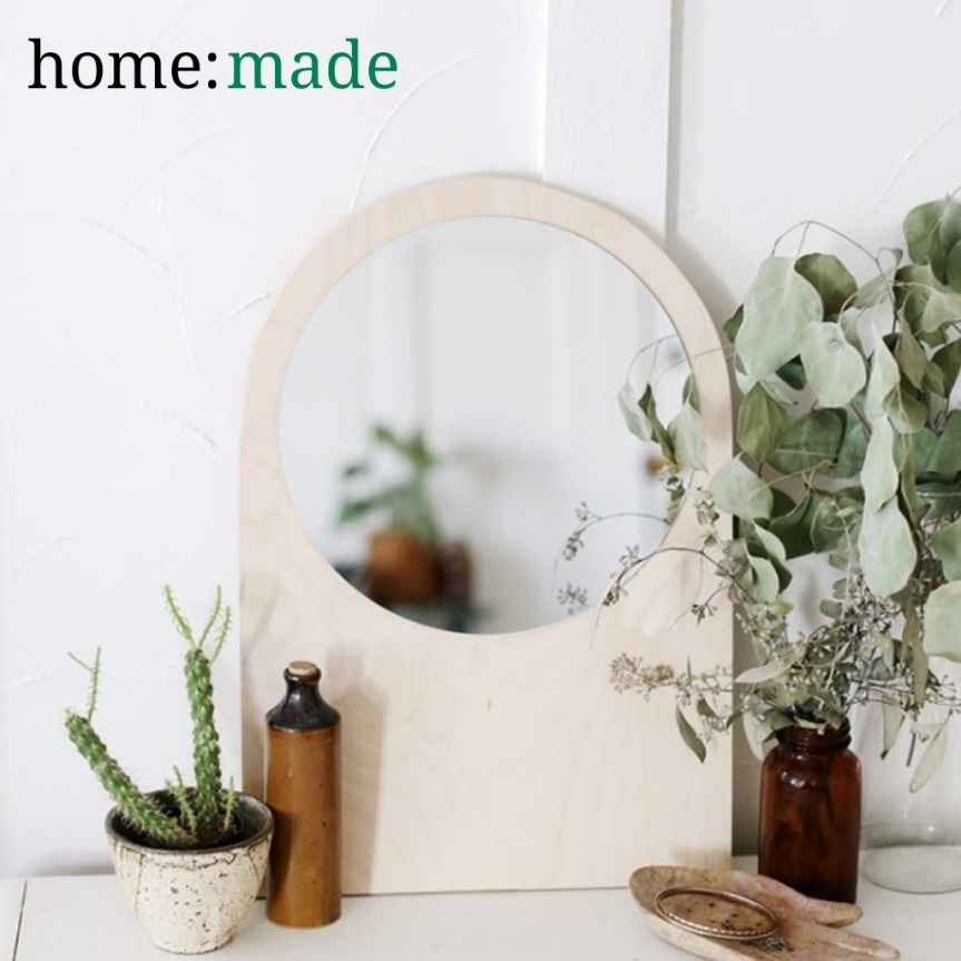 home: made [ arch mirror ]