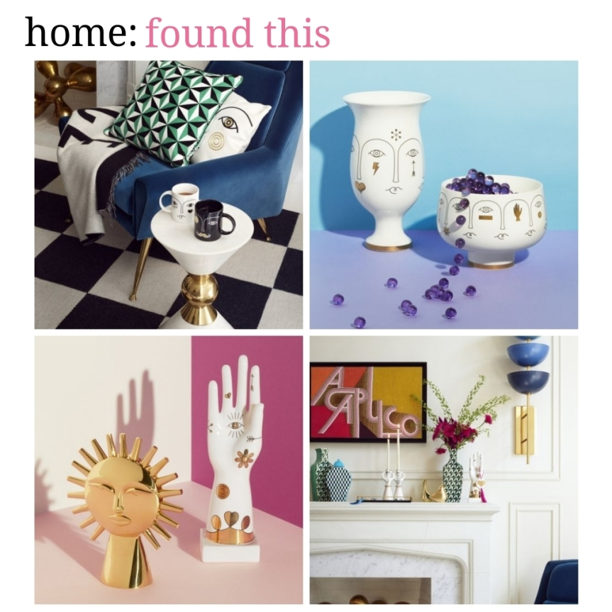 home: found this [ Jonathan Adler x H&M ]