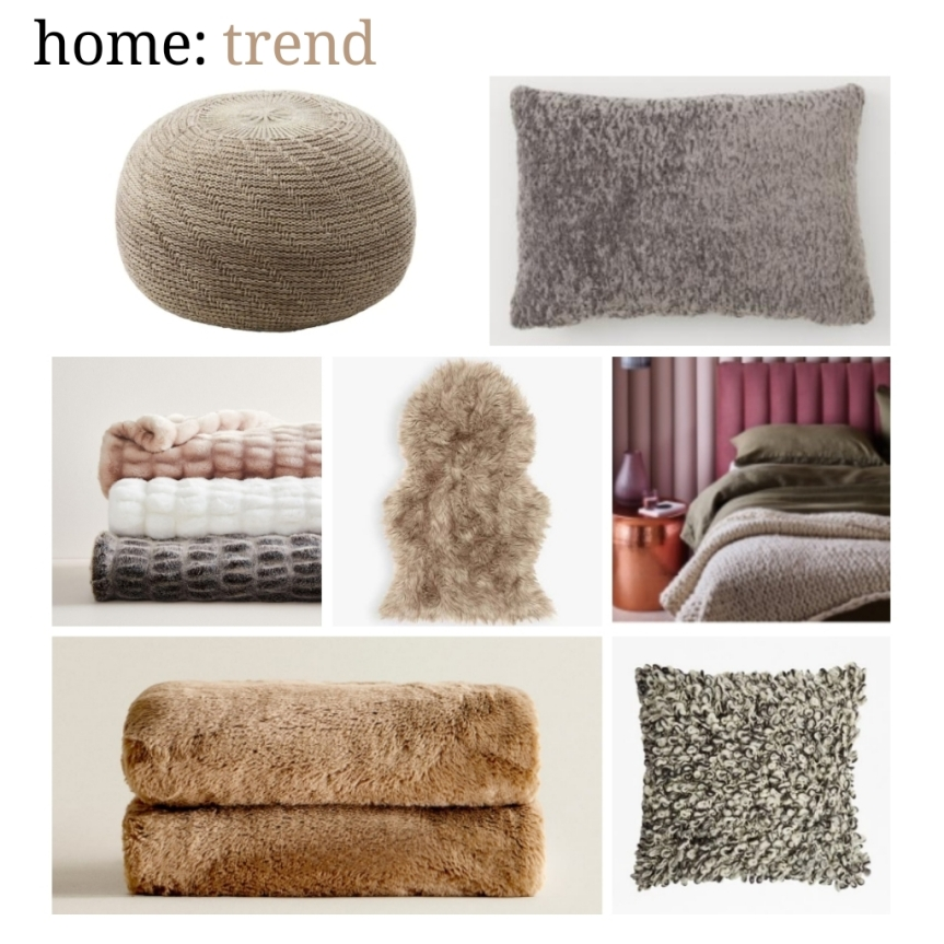 home: trend [ home comforts ]