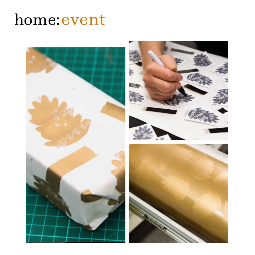 home: event [ wrapping paper printing ]