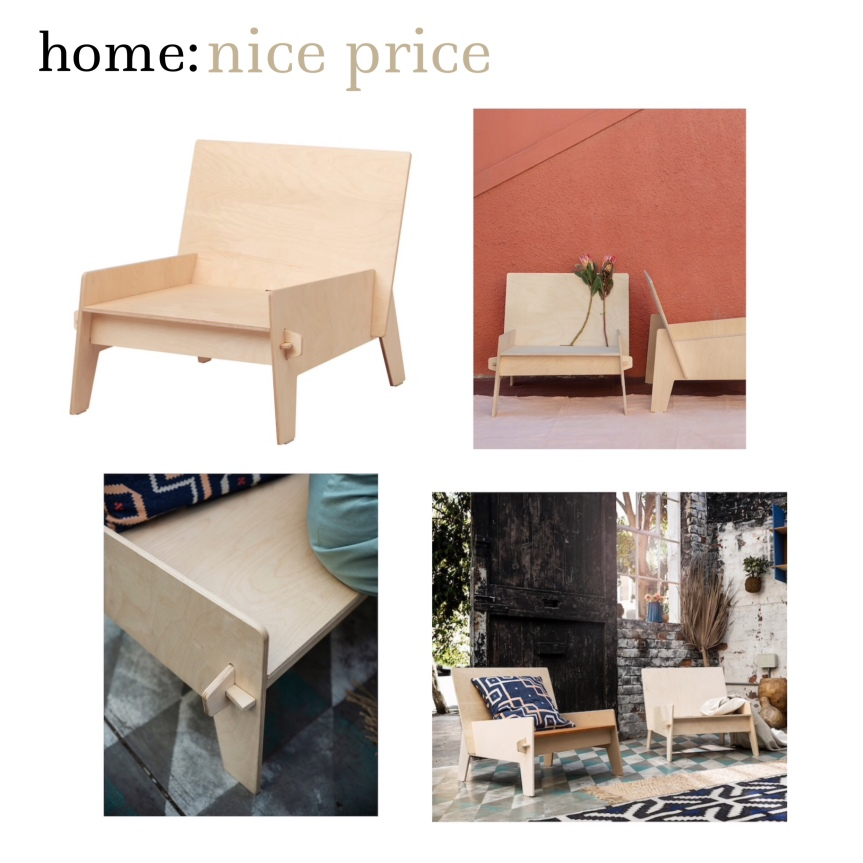 home: nice price [ wooden chair ]