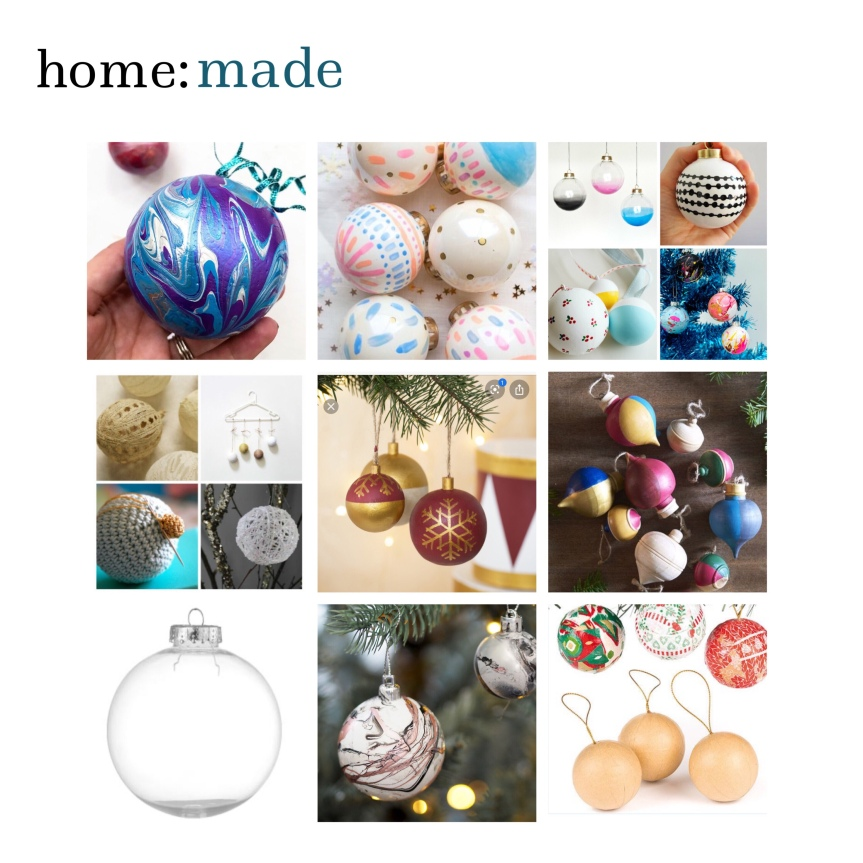 home: made [ diy baubles ]