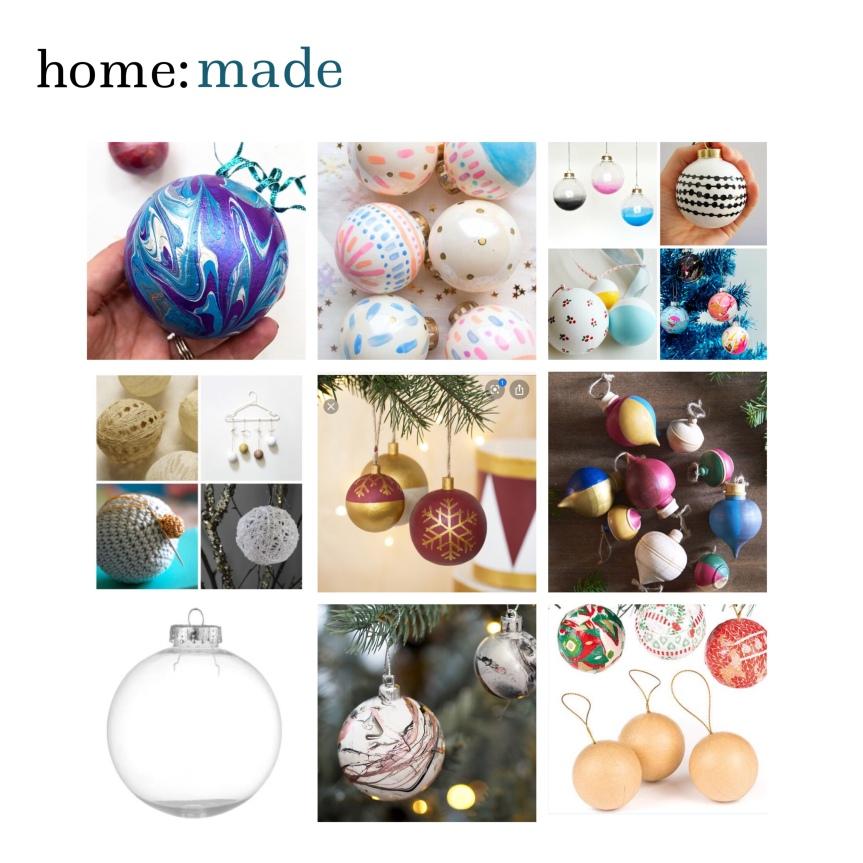 home: made [ diy baubles]