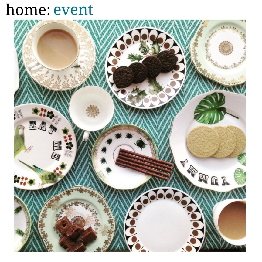home: event [ vintage china upcycling]