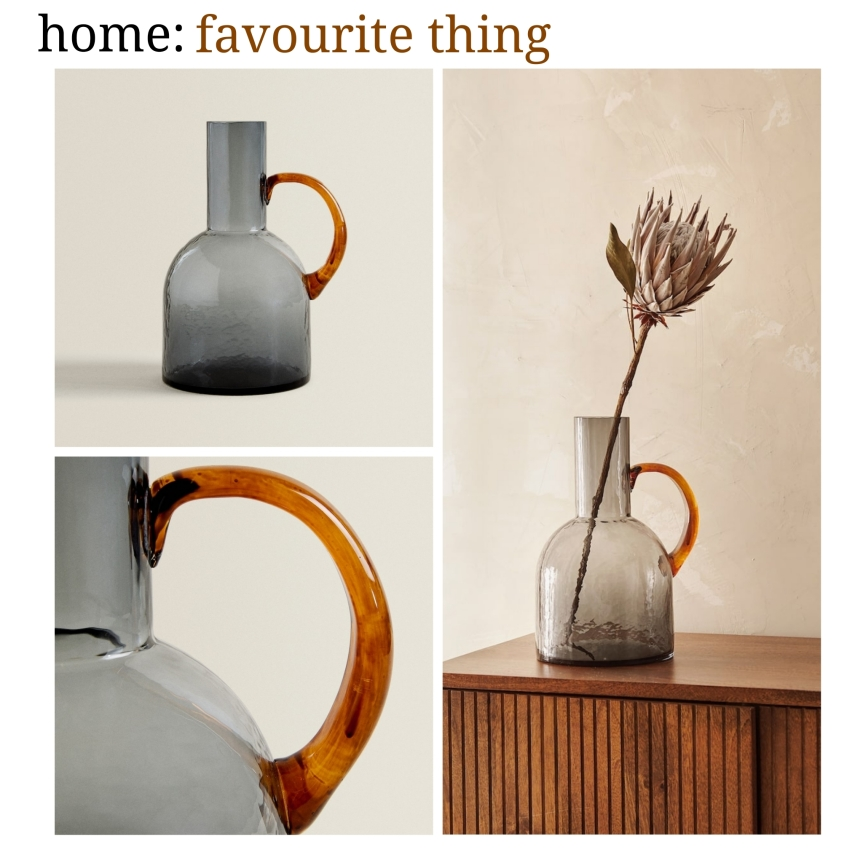 home: favourite thing [ glass vase]