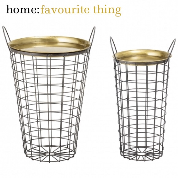 home: favourite thing [ side tables ]