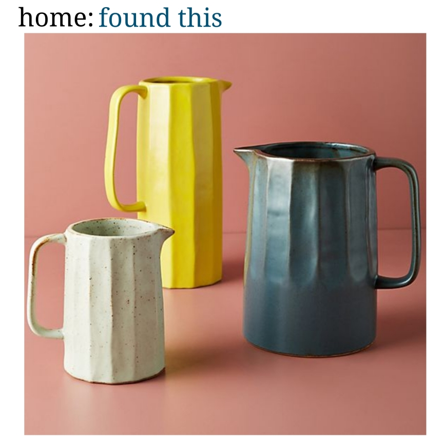 home: found this [ pitcher ]