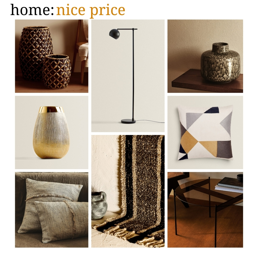 home: nice price [ Zara home ]