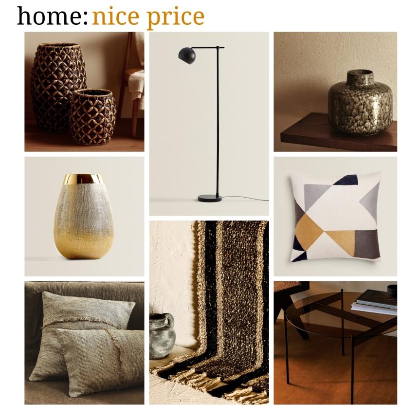 home: nice price [ Zara home]