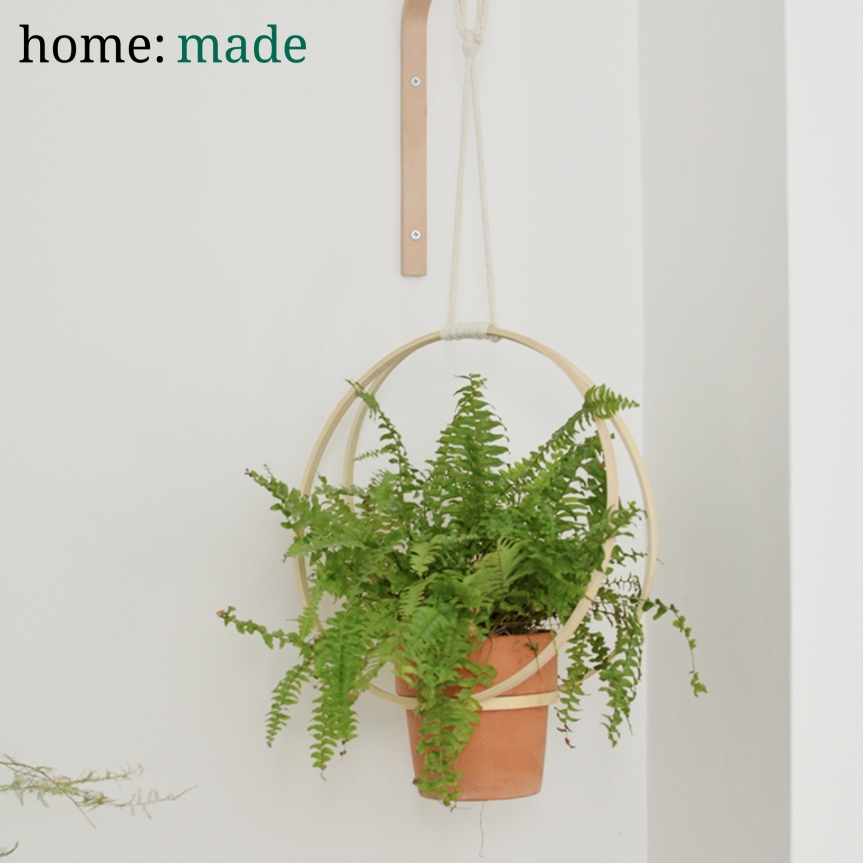 home: made [ hanging planter]