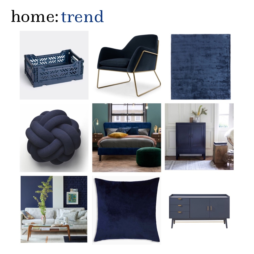 home: trend [ navy blue ]