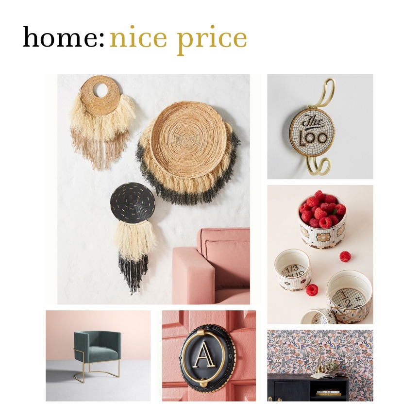 home: nice price [ anthropologie ]