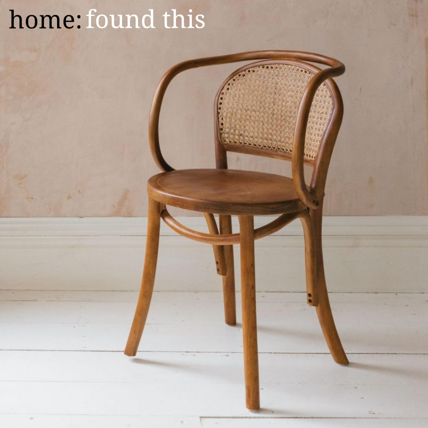 home: found this [ rattan chair ]