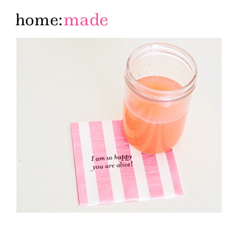 home: made [ printed napkins ]