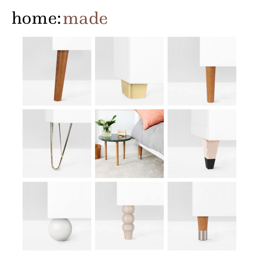 home: made [ furniture legs ]