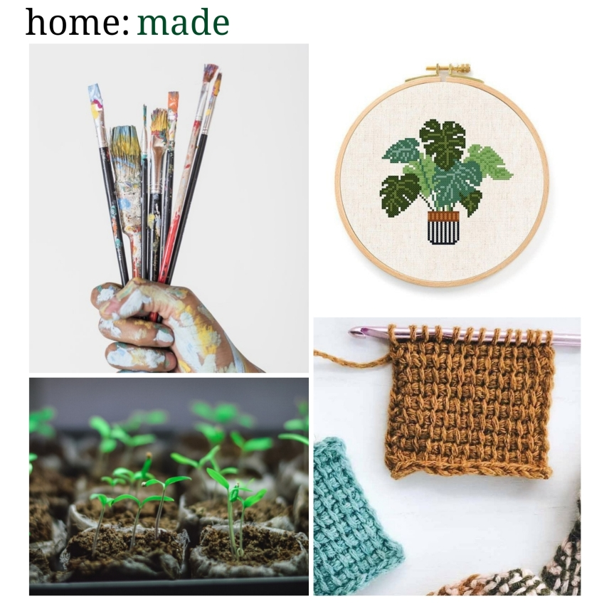 home: made [ things to do at home]