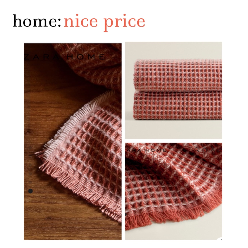 home: nice price [ blanket ]