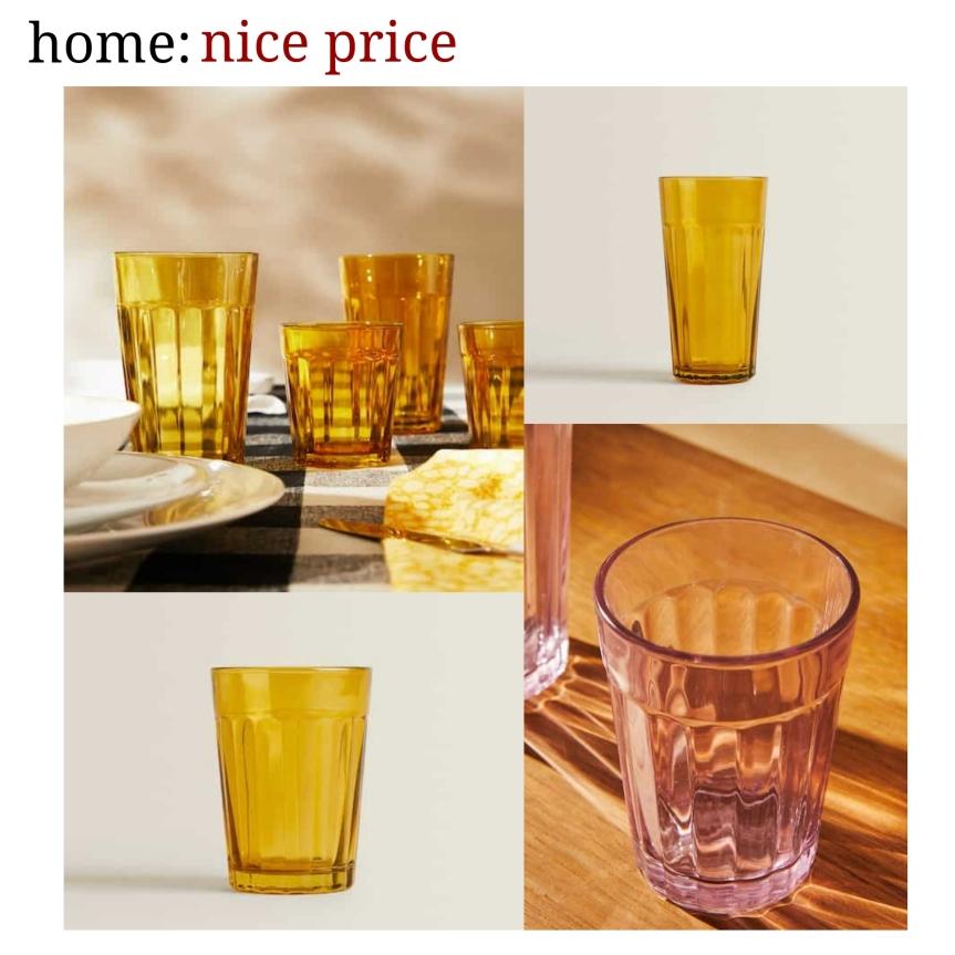 home: nice price [ glasses]