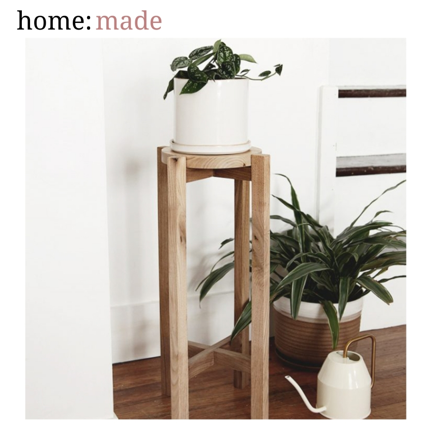 home: made [ plant stand ]