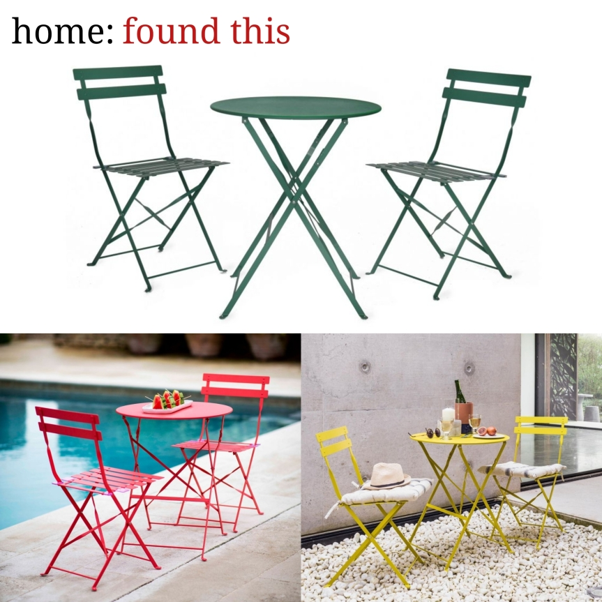 home: found this [ bistro set ]