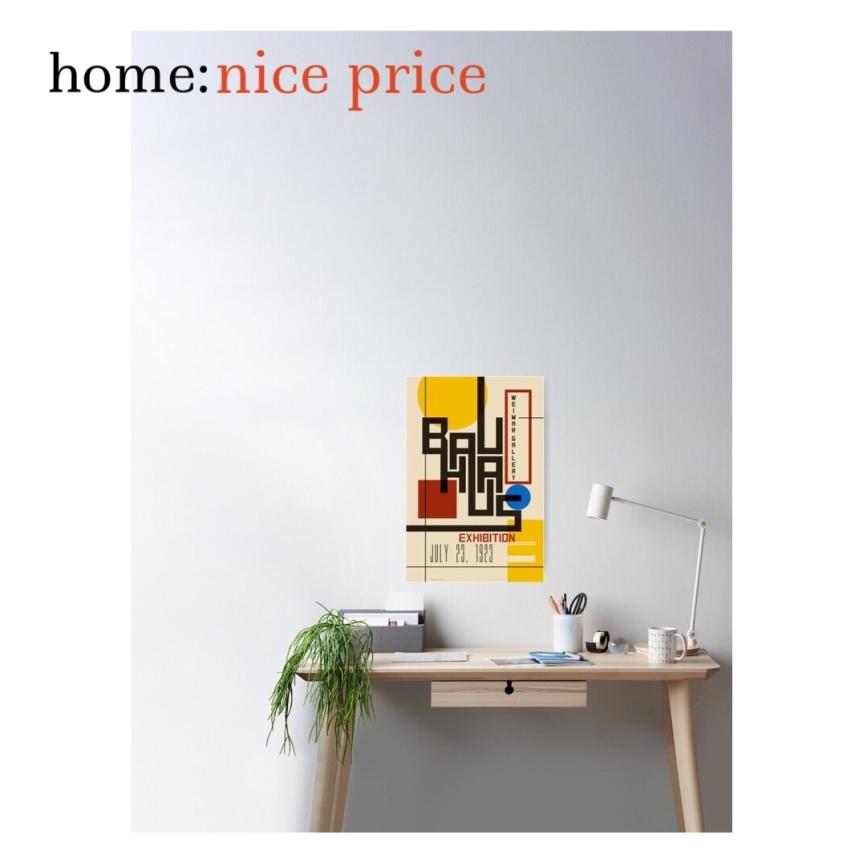 home: nice price [ poster print]