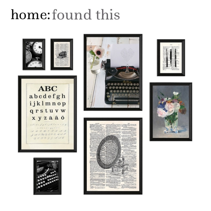home: found this [ gallery wall set]
