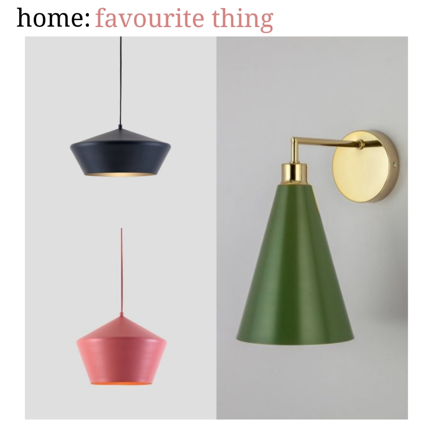 home: favourite thing [ houseof x H&M lighting ]